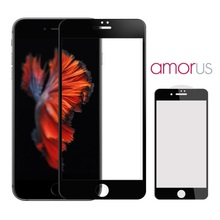AMORUS for iPhone 7 Plus Full Size 3D Curved Tempered Glass Screen Protector 0.3mm for iPhone 7 Plus 5.5 inch Tempered Glass