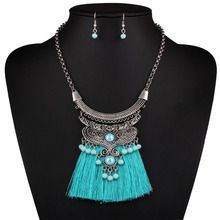 Buy Find 2017 brand fashion wholesale boho tassels collar choker necklace vintage ethnic maxi statement necklace women Jewelry for $3.29 in AliExpress store