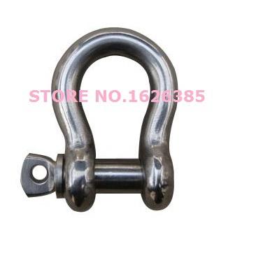 M5 5MM 304 stainless Steel bow shackle lashing hook lashing part Marine Hardware(China (Mainland))