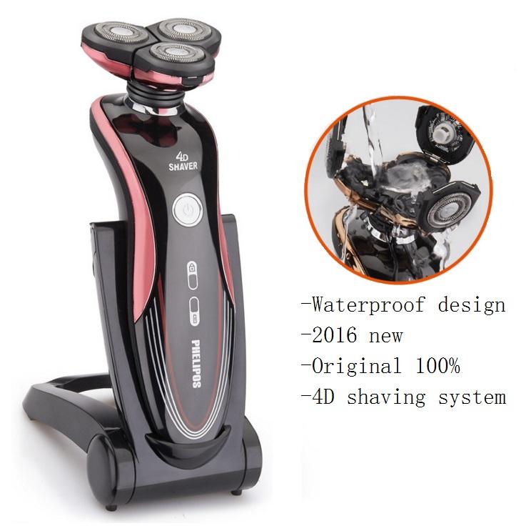 original 2016 new shaver electric razor for men beard shaving machine rasoir electrique maquina. Black Bedroom Furniture Sets. Home Design Ideas