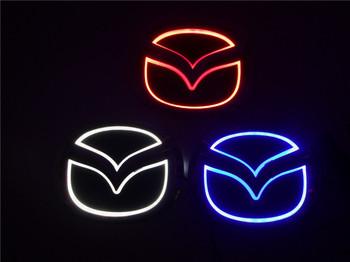 2015 New brightness auto 5D Logo Light mazda led badge sticker lamp led emblem 5d for mazda 6 2 3 8 cx7