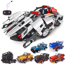 Building Blocks Electrical Remote Control Cars Kids Children Educational Toy Hot Selling(China (Mainland))