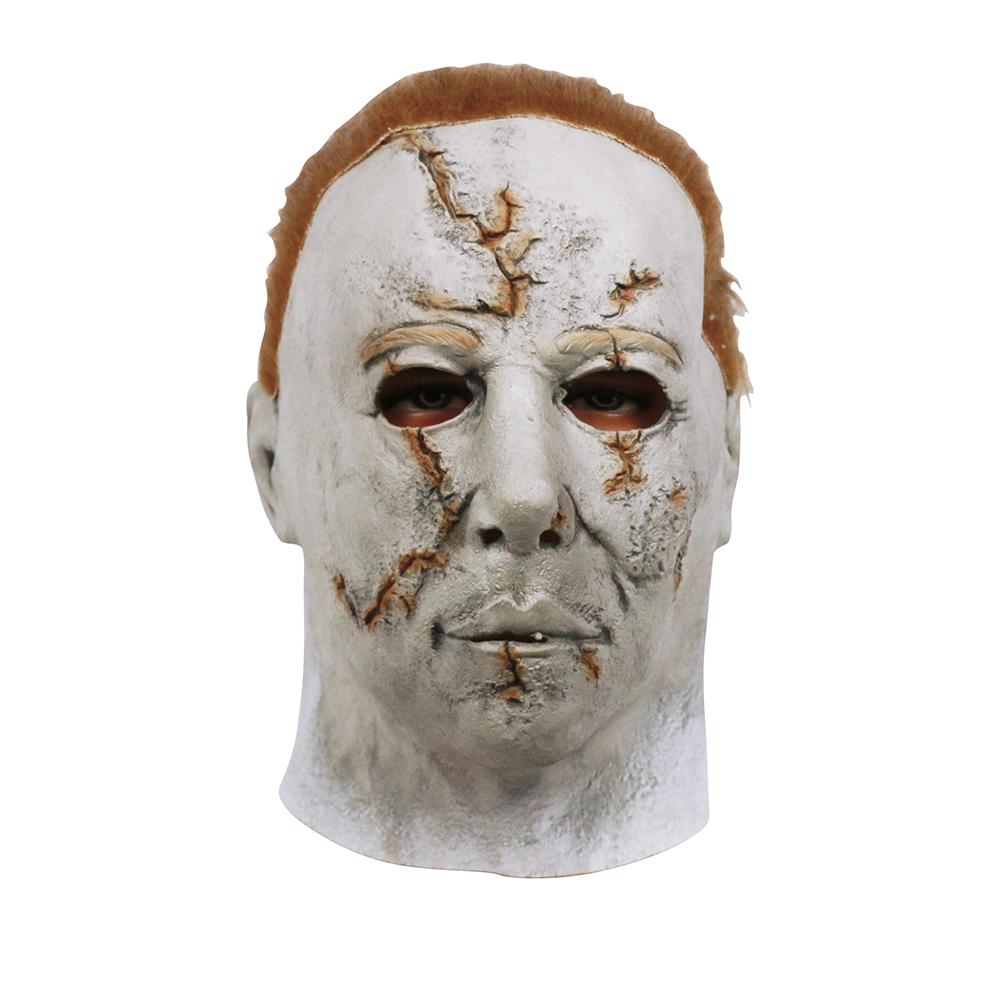 Venda quente Halloween Cosplay Popular Michael Myers máscara cicatriz Michael Myers máscara de Halloween máscara do partido(China (Mainland))
