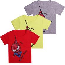 New Fashion Boy Kids Summer Clothing Casual Spiderman Short Sleeve Tops Blouses T Shirt Tees Clothes t shirts boys girls tees