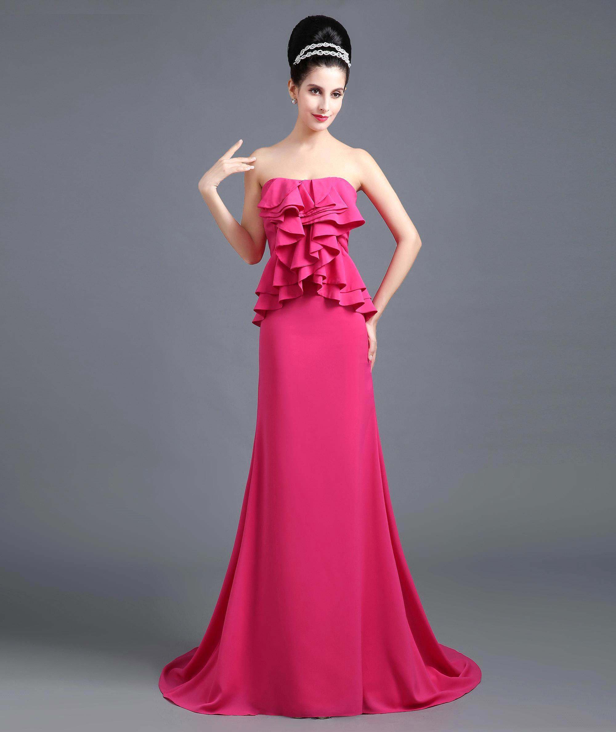 Images of Pink Prom Dresses Under 100 - Reikian