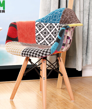 MAV Furniture, Modern design Kid/Children patchwork Arm chair, 2pcs/Lot, Free shipping by China Post Air Parcel(China (Mainland))
