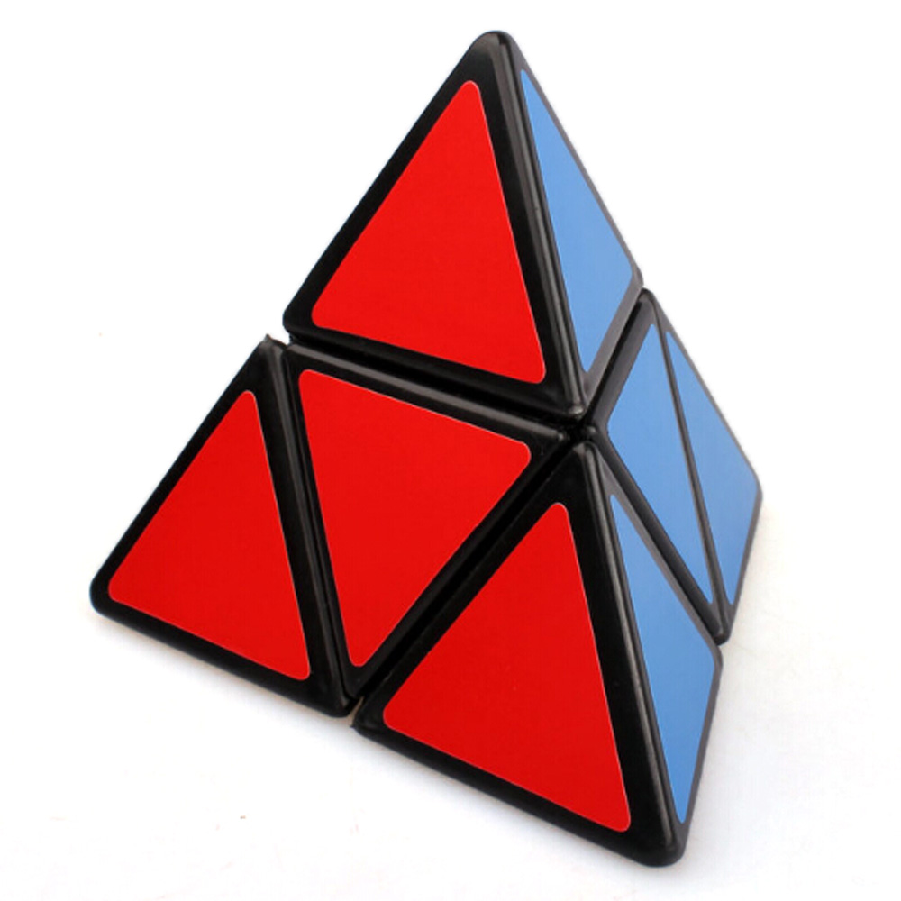 MoZhi 2x2x2 Pyraminx Magic Cube Black 88mm Puzzles Brain IQ Teaser Educational Toys Special Toys(China (Mainland))