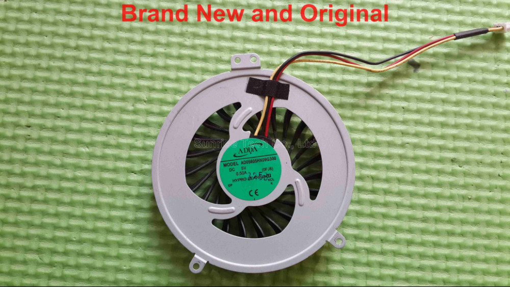 Brand New and original CPU fan for Sony SVE15 SVE151100C SVE1511SAC laptop cpu cooling fan cooler AD05605HX09G300 0FJ8(China (Mainland))