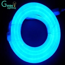 220-240V LED flexible Neon Strip 14*25mm blue led neon flex 100leds per unit(China (Mainland))