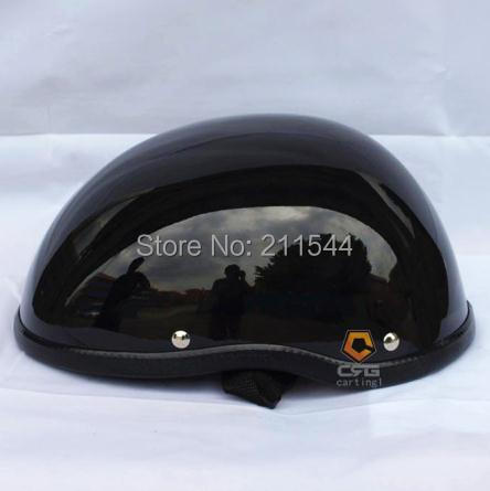 2015 NEW High quality FRP vintage professional Motorcycle half helmets for harley Retro vintage Open face helmet black(China (Mainland))