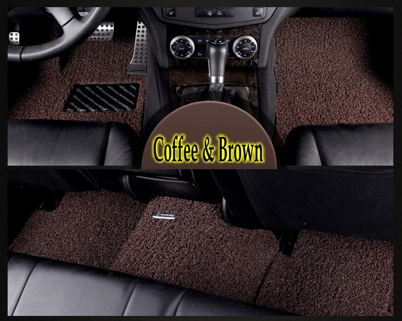 Top Quality Car Foot Mat Floor Mats for Land Rover Discovery 4 Accessorie Environmental Protection PVC Microfiber Coffee &amp; Brown<br><br>Aliexpress