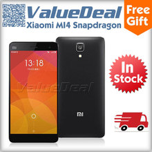 Original Xiaomi M4 Mi4 Qualcomm Snapdragon 801 Quad Core 5.0inch 1920*1080 Mobile Phone 13MP Camera 3GB RAM OTG NFC Smartphone(China (Mainland))