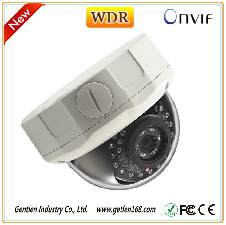 3MP IP Camera Onvif 30pcs LED IR Night Vision 30M P2P Waterproof  Vandalproof Dome CCTV Camera WDR(China (Mainland))
