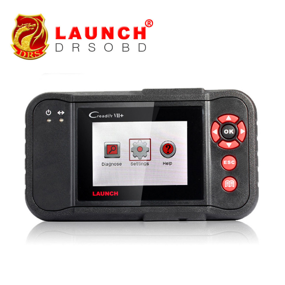 Professional Automobile Four System Fault Code Reader Launch Creader VII+ Creader 7 100% Original Free Update Via Internet(China (Mainland))