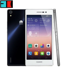 Original Huawei Ascend P7 Hisilicon 910T Quad Core 5inch 1920x1080P 2GB RAM 16GB ROM 13MP FDD LET 4G Mobile Phone Multi Lang(China (Mainland))