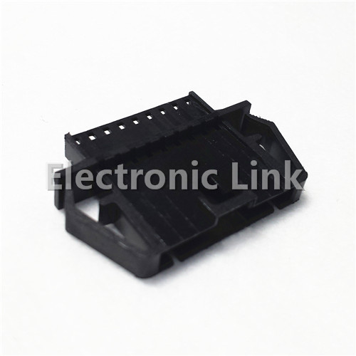 * Genuine 701,070,043 9-way male connector socket housing 2.54mm pitch signal installation black<br><br>Aliexpress