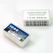 Wholesale Cheap 1000PCS Per Box 316L Stainless Steel Disposable Tattoo Loose Needles supply,  Tattoo Needles for sale(China (Mainland))