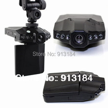 Free Shipping H198 Car DVR with 2.5 Inch 270 Degree Rotated Screen, 6 IR LED, HD 720P Night Vision Car Black Box Camera Dash Cam(China (Mainland))