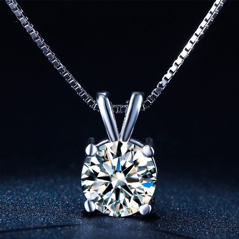 Vintage Wedding Chain Pendants Necklace New Arrival White Gold Plated Fashion Jewelry Cubic Zircon font b