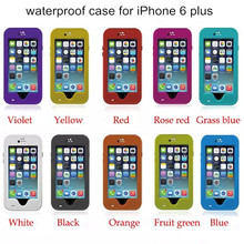 Original Redpepper IP68 waterproof shockproof dirtproof kickstand mobile phone case cover for Apple iPhone 6/6S/6 Plus/6S plus(China (Mainland))