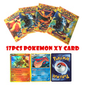 17 pcs set carte pokemon ex Poke Ball Pikachu Umbreon Sylveon Cartoon kids gift