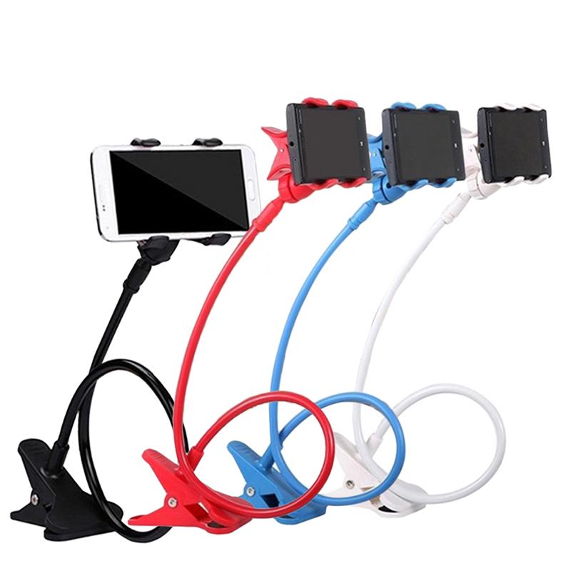 New 360 Degree Roating Flexible Phone Holder Stand For Mobile Long Arm Holder Bracket Support For Bed Desktop Tablet(China (Mainland))