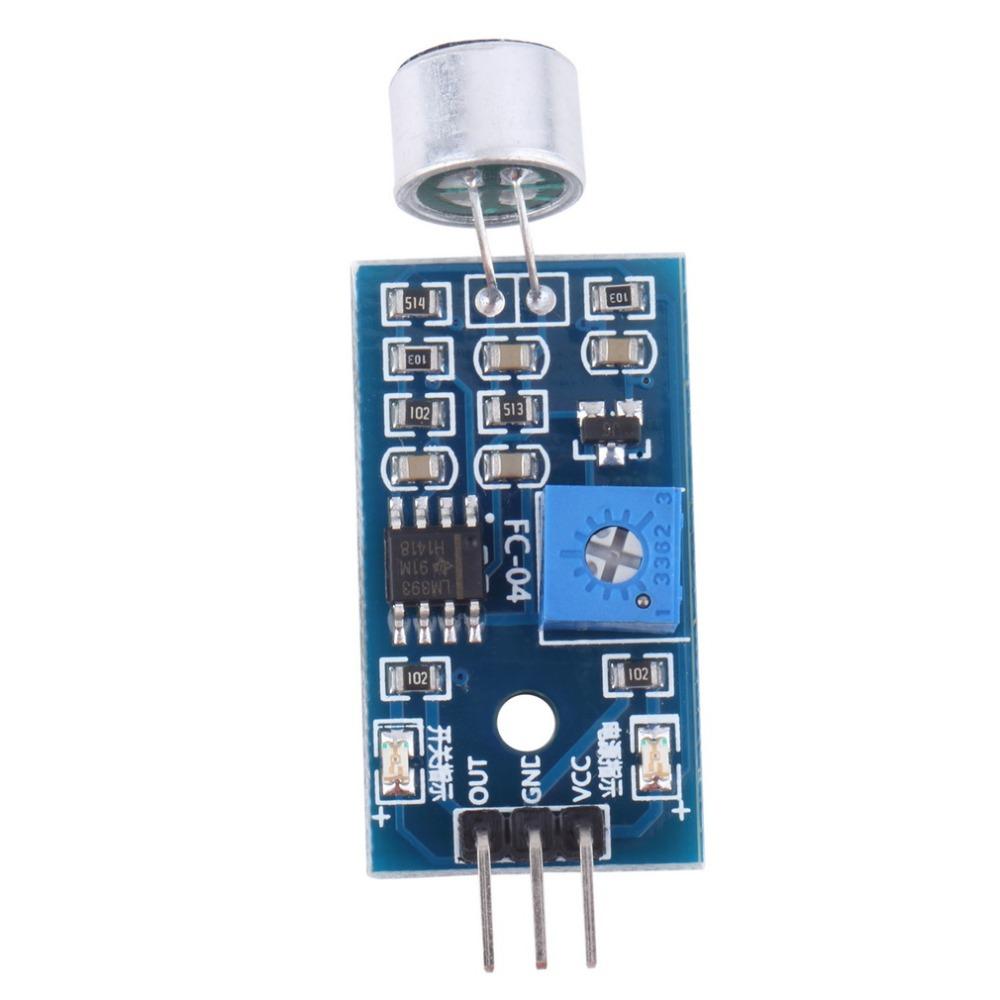 New hot selling Sound Detection Sensor Module Sound Sensor Intelligent Vehicle For Arduino Drop shipping