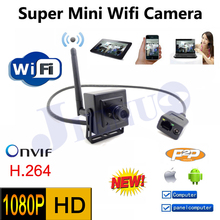 Hot sales Mini wifi surveillance 1080P 2.0MP HD Network cctv security indoor Network IP Camera,ONVIF H.264 small home video cam