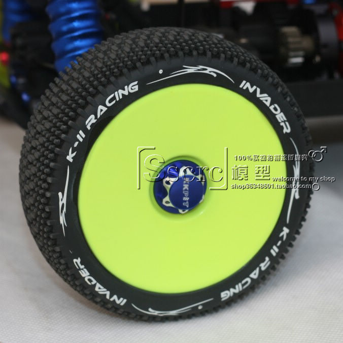 Taiwan K2 1/8 buggy off-road tires grip using high quality abrasion resistant inner alchemy a race car parts(China (Mainland))