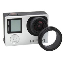 Free Shipping UV Action Camera Protective Accessories Lens Cover Optical Glass Lens Cover for Gopro Hero 4 3 2 1