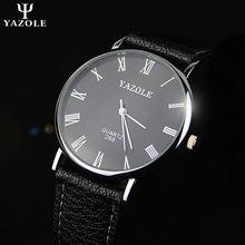 Lujo moda hombre cuarzo relojes de primeras marcas negocio escala romana de cuero relojes correa vestido Erkek Kol Saati Montre Homme