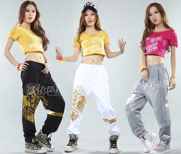 Ladies Hip Hop Dance Jazz Costume Sports Women Men ...