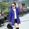 2016 Plus size 6XL fat MM winter padded jacket 200 pounds cotton jacket slim long solid