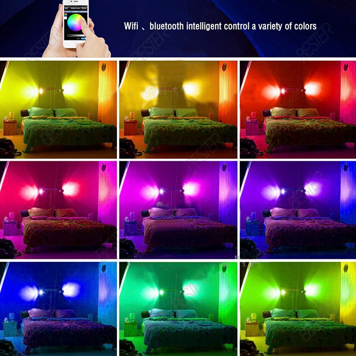 bluetooth smart light lamp 1