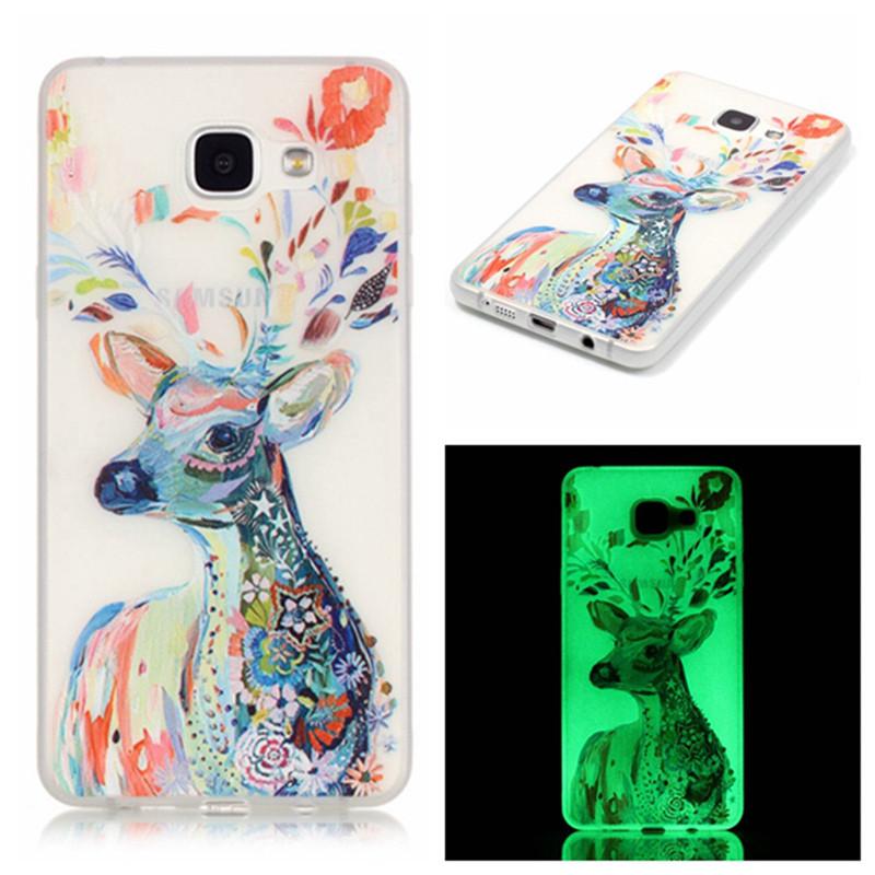 Luminous Case For Samsung Galaxy A5 2016 A510 A510h A510F Slim Phone Case Soft TPU Silicon Cover For Samsung A5 2016 Coque ]