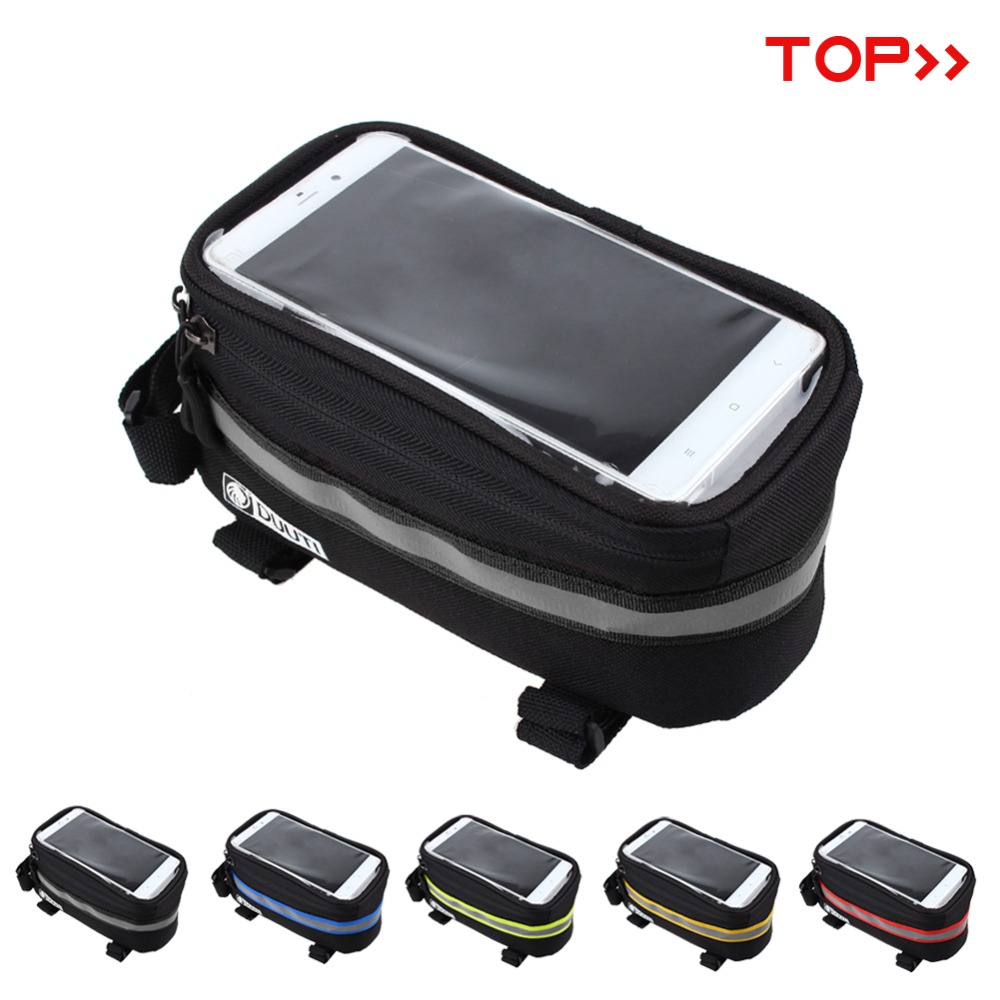 """New panniers Frame Front Tube Bag For Cell Phone MTB Bike Touch Screen Bag For iphone 6 Plus 4.8"""" 5.7""""Cycling Bike Bicycle bags(China (Mainland))"""