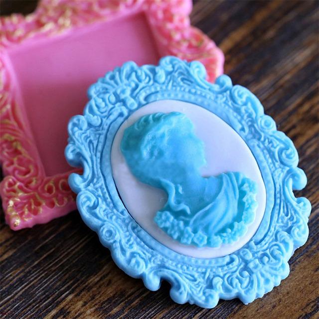 Mirror Fondant Cake Decorating Mold