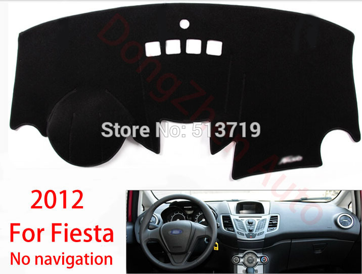 Car dashboard Avoid light pad Instrument platform desk cover Mats Carpets Auto accessories For Ford Fiesta 2012 от Aliexpress INT