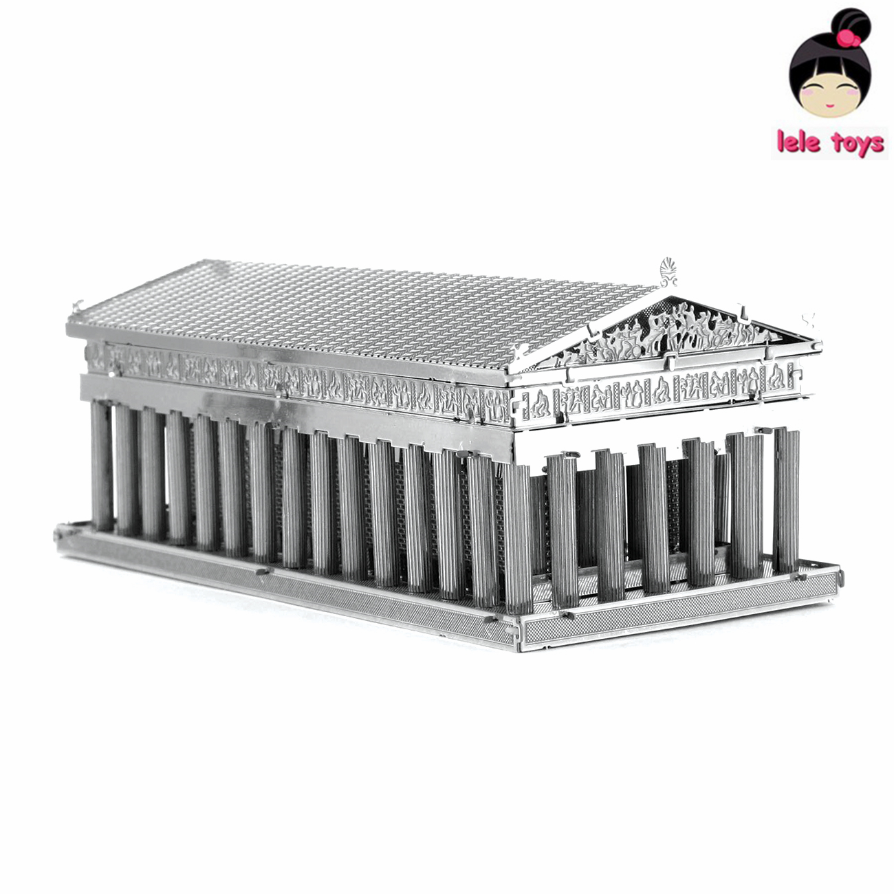 Construction Famous Buildings Over The World 3D Metal Model Puzzles PARTHENON Chinese Metal Earth Stainless Steel(China (Mainland))
