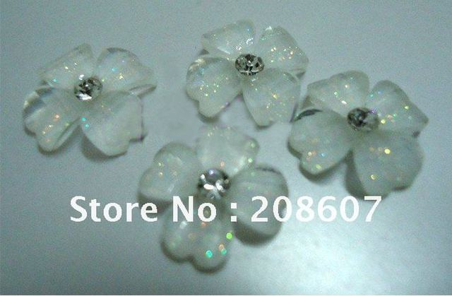 Nail beauty Lovely Flowers 10mm Nail Jewelry/ Nail Salons/Nail Design /Nail Decoration / Nail Art/Manicure
