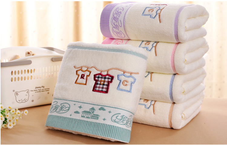 beach towels for adults100% cotton jacquard embroidery bath towel drying washcloth 70*140cm bathroom swimwear shower baby towels(China (Mainland))