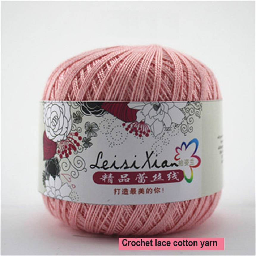 Cotton Yarn Thin Yarn Lace Cotton Crochet Yarns For Hand knitting Yarn ...