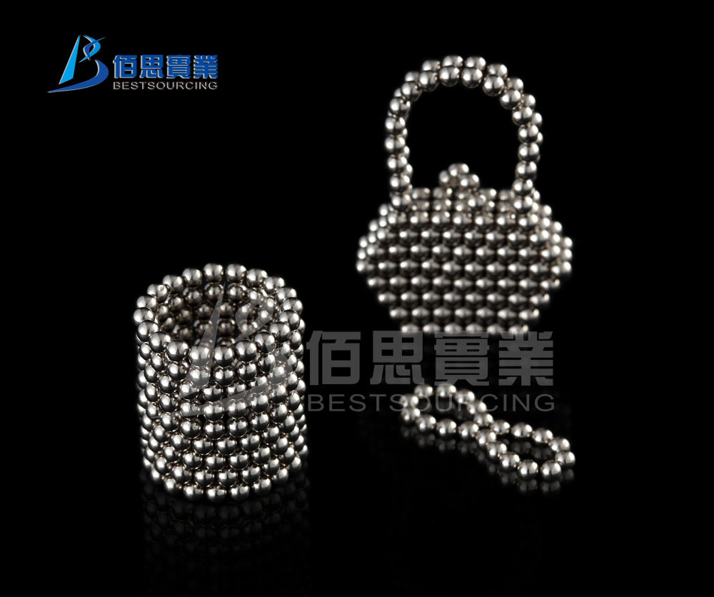 EMS Free Shipping 10pcs/lot 216 3mm Silver Neocube Toy Neo Cubes Buckyballs Magnetic Spheres Balls(China (Mainland))