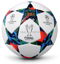 A+++ Top Sale 2015 Champion league ball Final Berlin soccer ball football PU granules slip-resistant size 5 free shipping(China (Mainland))
