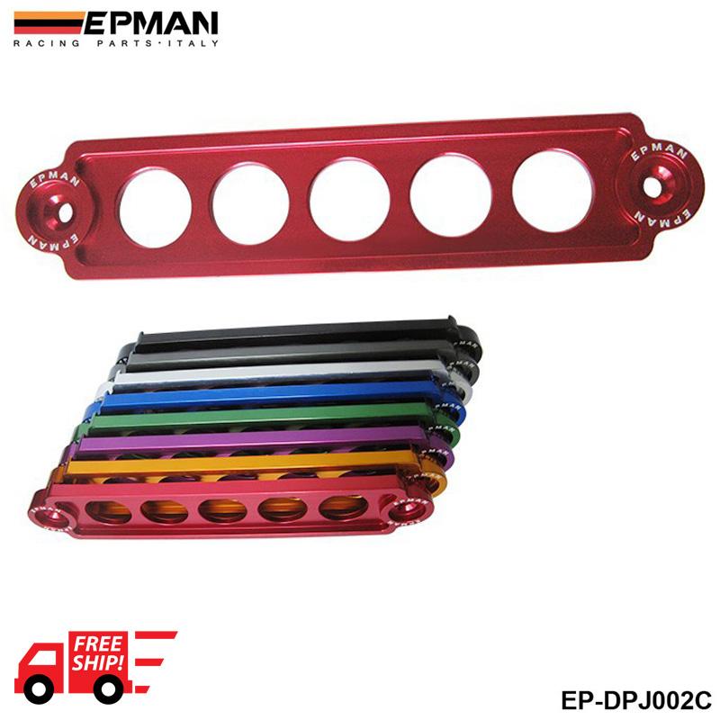 AUTOFAB -- EPMAN ALUMINUM BATTERY TIE DOWN FOR HONDA Civic SI 02-05 DEFAULT RED EP-DPJ002C(China (Mainland))