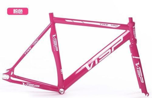 Brand Visp TRX790 Track Bike Fixed Gear Bicycle Frame with Fork fixie frame free shipping(China (Mainland))