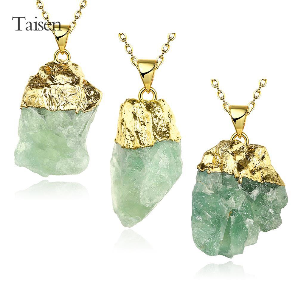 natural stones pendant necklace women pendant crystal trendy 18k gold men chain necklace gothic collar men's necklace sweets(China (Mainland))