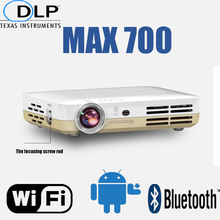 Smart digital HD projector build in android 4.2 double wifi bluetooth support full 3D formate Quad-core CPU use for home theater(China (Mainland))