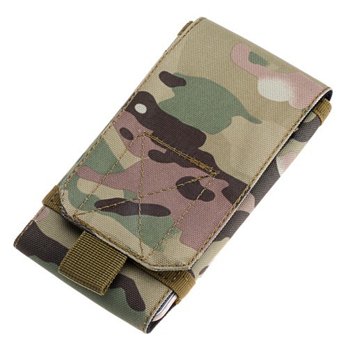 Size L Military Style Mobile Phone Bag Pouch Outdoor Pocket with Velcro for Outdoor Activities(China (Mainland))