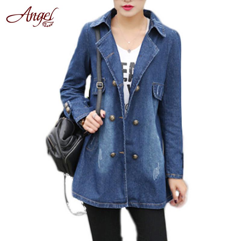 Spring Autumn women Jeans coat 2016 New Hot Sale Fashion ...